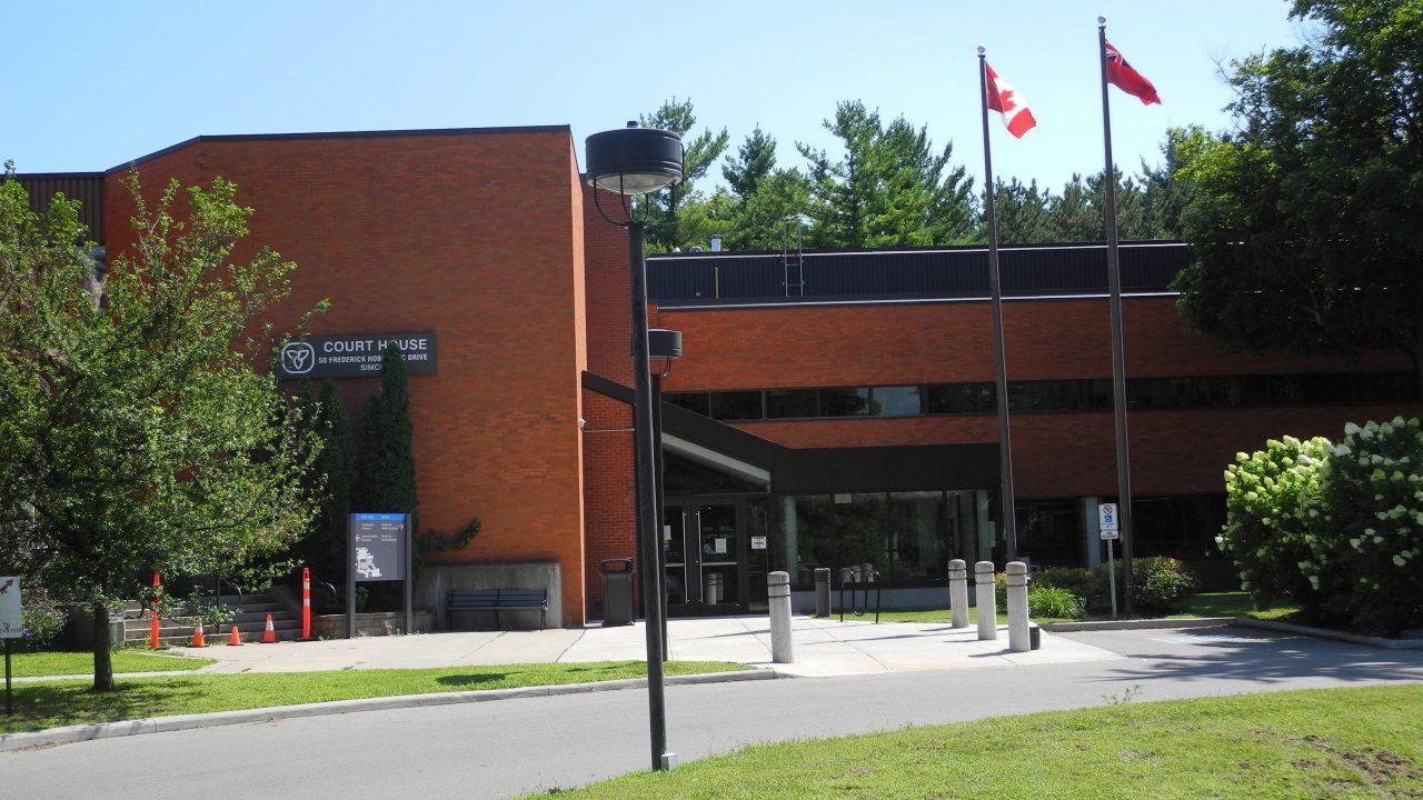 Simcoe Courthouse Exterior